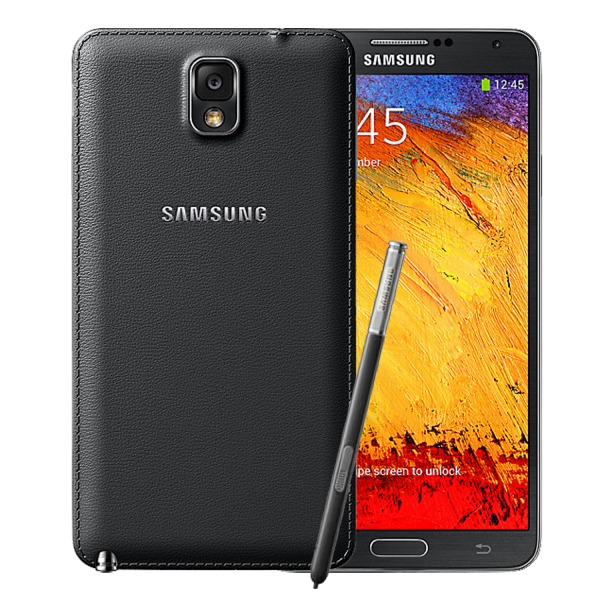 Note 3 Black Cover