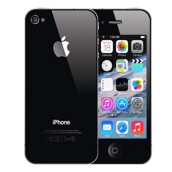 iPhone 4 Black Cover