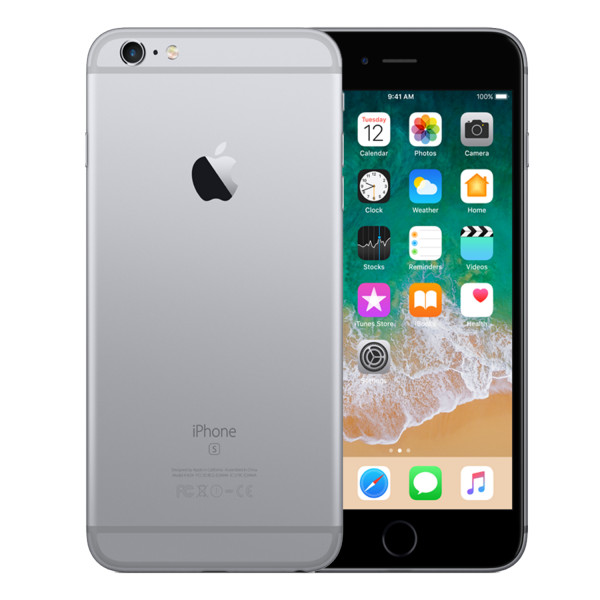 iPhone 6s Plus Space Gray Cover